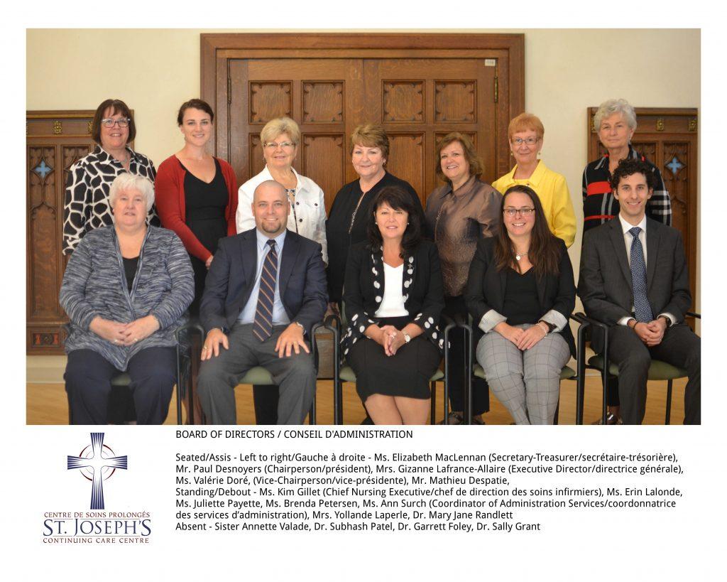 2017 Board of Directors
